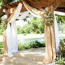 burlap wedding decor burlap wedding drapes rustic curtain panels burlap wedding