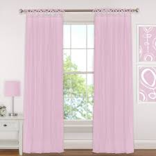 Soft Pink Curtains Semi Opaque Pink Curtains Drapes Window Treatments The