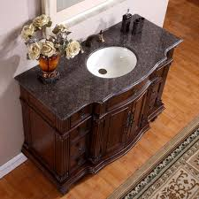Granite Bathroom Vanity Silkroad Exclusive Labrador Hyp 0277 La 48 48 Inch Single Sink