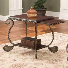 steve silver rosemont coffee table steve silver company rm200ec rosemont chairside end table table