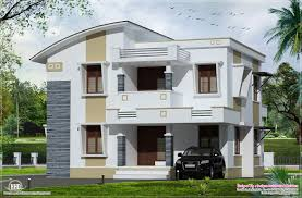 kerala home design courtyard bed room flat roof villa courtyard kerala home building plans