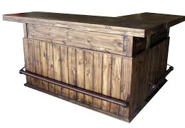 l shaped bar texas rustic wholesale pine furniture mexico conroe