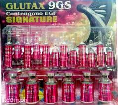 Glutax 9 G injection of anti aging and whitening glutax 9g s