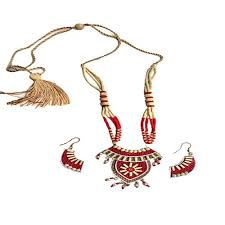 jute earrings 10 best villagemart in handmade jute jewellery images on