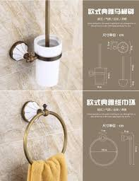 Porcelain Bathroom Accessories by Wall Tile Decor