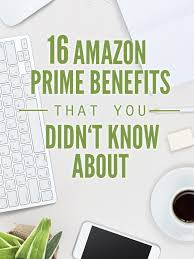 amazon prime black friday membership amazon prime benefits you might not know about