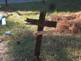 cheap gravestones make a cheap yard display 8 steps