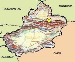Taklamakan Desert Map Foreign Expertise Day 3 Turpan Desert Oasis