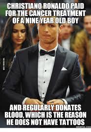 Tuxedo Meme - christiancoronaldo paid for the cancertreatment of anine year old