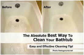 Vinegar Bathroom Cleaner Bathroom Stupendous Cleaning A Bathtub Jacuzzi 39 Cleaning