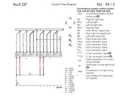 2007 audi q7 wiring diagram 2007 wiring diagrams instruction