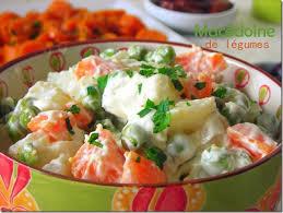 cuisiner legumes macédoine de légumes mayonnaise le cuisine de samar