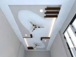 Living Room False Ceiling Designs by False Ceiling Designs For Hall With Two Fans Lader Blog