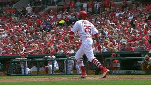 two home 4 19 17 fowler s two home runs lead cards to 2 1 win