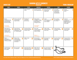 halloween calendars random acts of kindness kindness printables