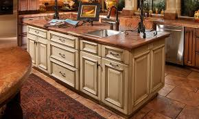 Wood Island Kitchen by Solid Light Oak Wood Counter Tops Solid Surface Countertops Island