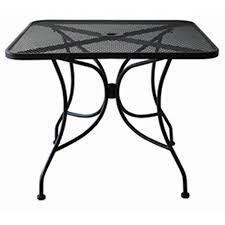 Mesh Patio Table Metal Mesh Patio Furniture