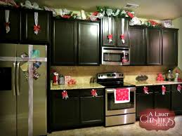 kitchen simple cool christmas kitchen decorations farmhouse