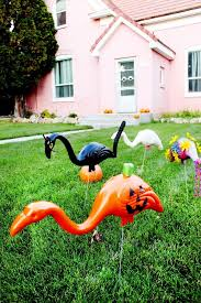 lawn ornament the 25 best plastic flamingos ideas on