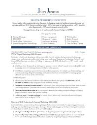 Marketing Manager Sample Resume Best Sample Resume For Marketing Manager Professional Resumes