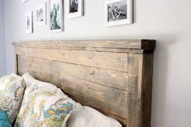 Do It Yourself Headboard White Reclaimed Wood Headboard Size Diy Projects