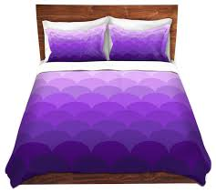 Organic Duvet Cover King Dianoche Microfiber Duvet Covers By Organic Saturation Purple