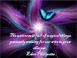 inspirational quotes image on magic