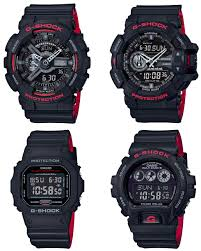 black friday g shock watches g shock black and red heritage layered band series u2013 g central g