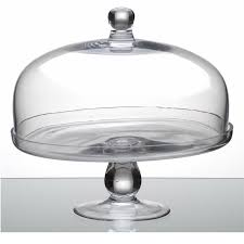 cake stand with cover glass cake stand and lid