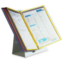 Wire Desk Organizer by Tarifold 10 Pocket Desktop Reference Starter Set Mac Papers Inc