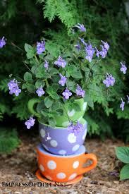 27 best garden tipsy pots images on pinterest garden ideas