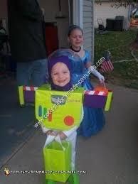 Buzz Lightyear Halloween Costume Coolest Homemade Buzz Lightyear Toddler Costume