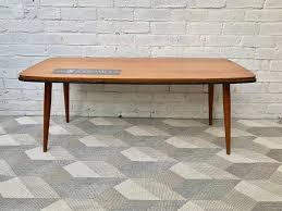 large vintage coffee table large vintage retro coffee table with tiles 465 in tower hamlets