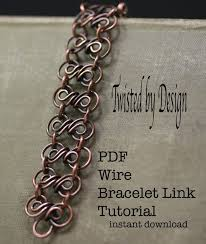 chain link bracelet patterns images 163 best twisted by design quot wire wrapped jewelry quot images on jpg