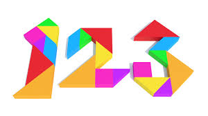 tangram puzzle learning numbers tangram puzzle counting 123 and