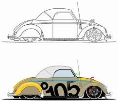 car sketch black silhouette design free vector in encapsulated