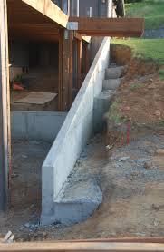 home design cinder block retaining wall foundation backsplash