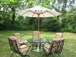 Green Wrought Iron Patio Furniture by Surprising Design For Patio Furniture With Umbrella Home Design