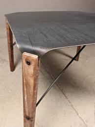 wood top coffee table metal legs coffee table love this twist hairpin wood metal top yum
