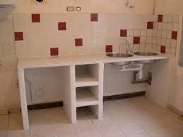 realiser une cuisine en siporex mortier galerie et placard beton