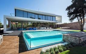 swimming pool house plans glass walled swimming pools 10 amazing designs home plans with p