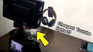 cheap studio lights for video best budget lights for shooting youtube videos cheapest studio