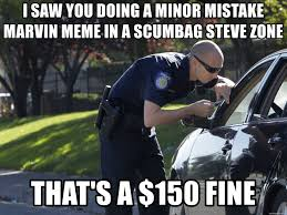 Scumbag Meme Generator - i saw you doing a minor mistake marvin meme in a scumbag steve