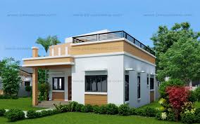house plans with rooftop decks maryanne one storey with roof deck shd 2015025 pinoy eplans