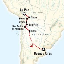 south america map bolivia la paz to buenos aires adventure in bolivia south america g