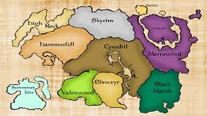 Elder Scrolls World Map by Shoddycast Elder Scrolls Lore Series Prologue U2013 Setting The