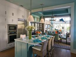 See Thru Chinese Kitchen Blue Island by Kitchen Island With Stools Hgtv
