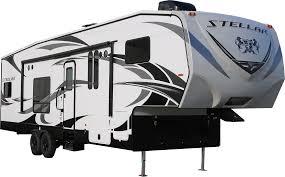 travel trailer with garage eclipse rv official stellar