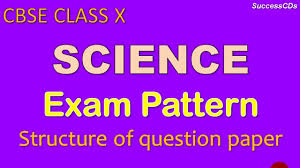 cbse class 10 science board exam pattern and question paper