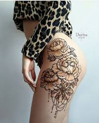 image result for thigh henna my style thigh henna
